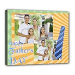 fathers day - Deluxe Canvas 24  x 20  (Stretched)