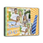 fathers day, dad, stong, number 1, family, happy, love, thank you - Canvas 10  x 8  (Stretched)