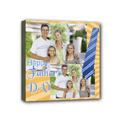 fathers day - Mini Canvas 4  x 4  (Stretched)