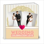 Wedding  gold Book - 6x6 Photo Book (20 pages)