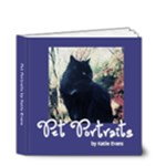 Pet Portraits by Katie Evans - 4x4 Deluxe Photo Book (20 pages)