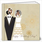 Wedding  gold Book - 12x12 Photo Book (20 pages)