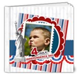 usa - 8x8 Deluxe Photo Book (20 pages)