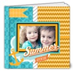 summer - 8x8 Deluxe Photo Book (20 pages)