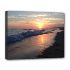 Laguna Sunset - Canvas 14  x 11  (Stretched)