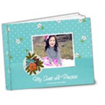 7x5 DELUXE: My Sweet Princess V2 BRAG BOOK - 7x5 Deluxe Photo Book (20 pages)