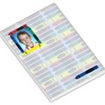 Crayon Large Memo Pad - Large Memo Pads