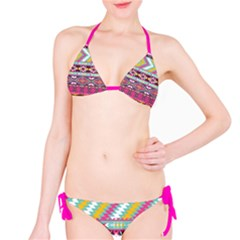 Aztec In Color Bikini by DigitalArtCreations