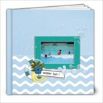 8x8 - Water Fun - 8x8 Photo Book (20 pages)