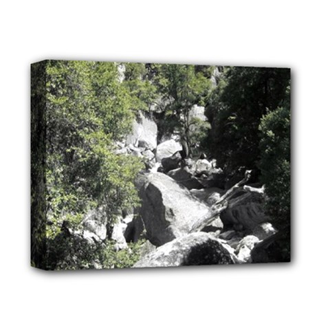 Yosemite National Park Deluxe Canvas 14  X 11  (stretched) by LokisStuffnMore