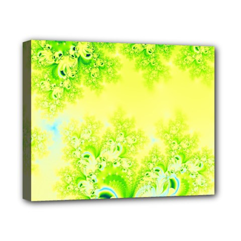 Sunny Spring Frost Fractal Canvas 10  X 8  (framed) by Artist4God