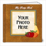 Recipe Book-At the Park - 8x8 Photo Book (20 pages)
