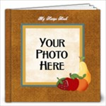 Recipe Book-At the Park - 12x12 Photo Book (20 pages)