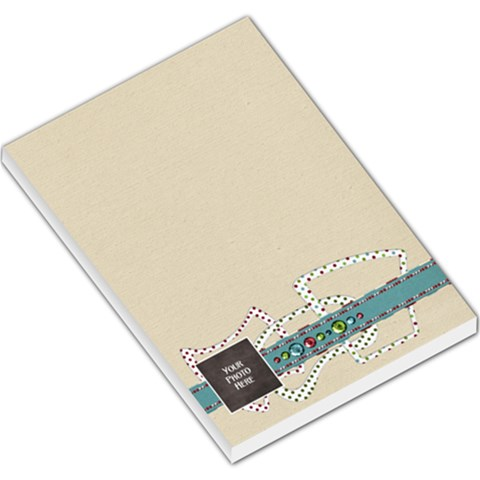 Christmas Dazzle Memo Pad By Lisa Minor   Large Memo Pads   6lhmj80k14wy   Www Artscow Com