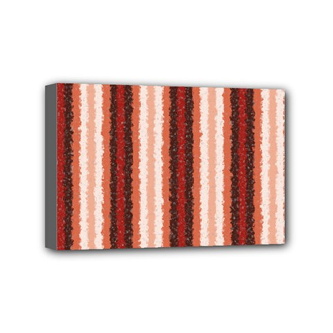 Native American Curly Stripes   1 Mini Canvas 6  X 4  (framed) by BestCustomGiftsForYou