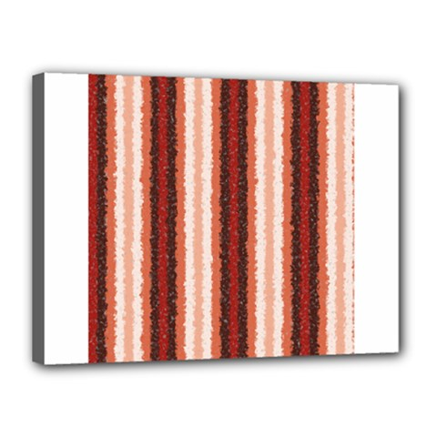 Native American Curly Stripes   1 Canvas 16  X 12  (framed) by BestCustomGiftsForYou