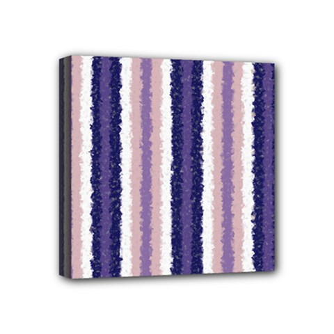 Native American Curly Stripes   2 Mini Canvas 4  X 4  (framed) by BestCustomGiftsForYou