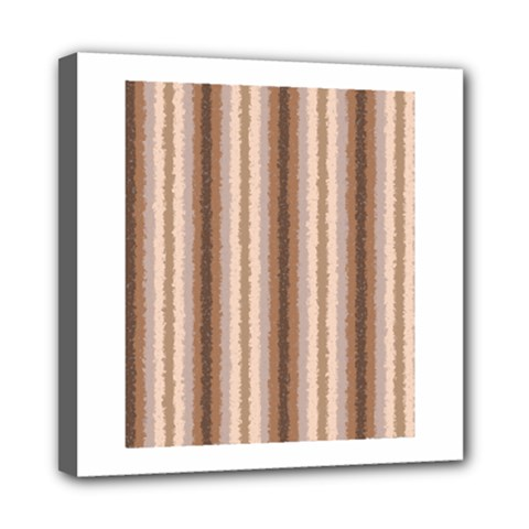 Native American Curly Stripes   3 Mini Canvas 8  X 8  (framed) by BestCustomGiftsForYou