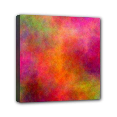 Plasma 10 Mini Canvas 6  X 6  (framed) by BestCustomGiftsForYou