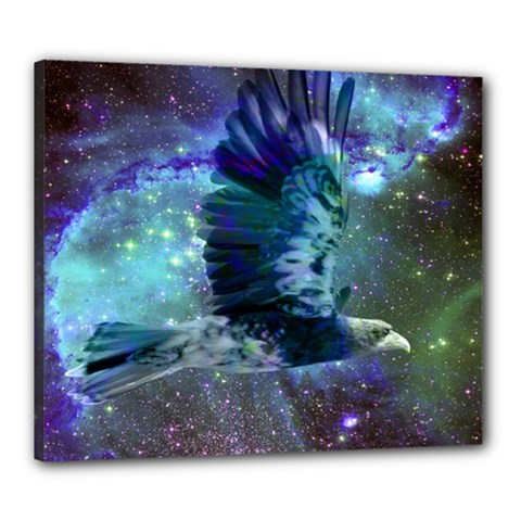 Catch A Falling Star Canvas 24  X 20  (framed) by icarusismartdesigns