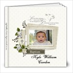 Kyle William Carden Baptism 10-18-2014 - 8x8 Photo Book (20 pages)