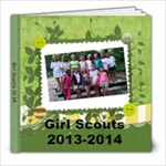 girl scouts 13-14 - 8x8 Photo Book (20 pages)