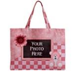 Watch Me Grow-Girl tiny tote - Mini Tote Bag