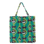 Haunted Tote - Color - Grocery Tote Bag