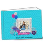 9x7 (DELUXE): Glittery Birthday - 9x7 Deluxe Photo Book (20 pages)