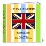 London-Ambalo - 8x8 Photo Book (20 pages)