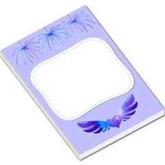 Wings By Saprillika Large Memo Pad by saprillika