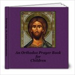 Prayer Book  General 6 St. Irene Chrysovalantou - 8x8 Photo Book (20 pages)