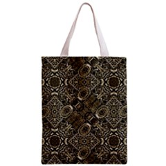 Steam Punk Pattern Print Full All Over Print Classic Tote Bag by dflcprints