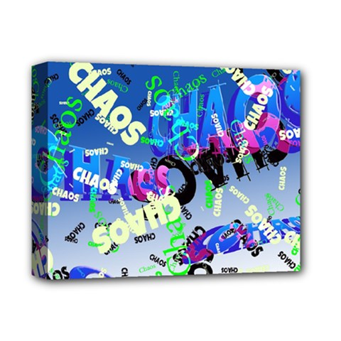 Pure Chaos Deluxe Canvas 14  X 11  (framed) by StuffOrSomething