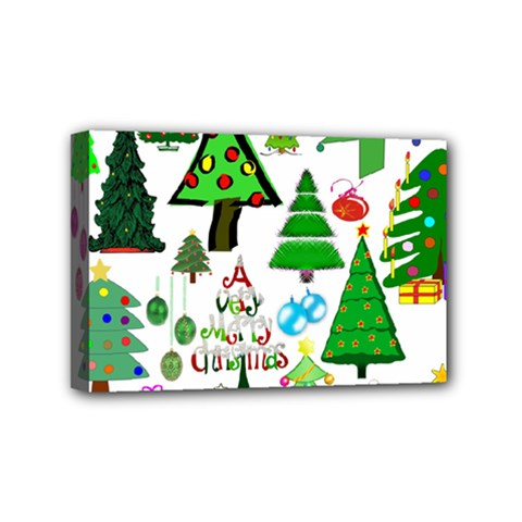 Oh Christmas Tree Mini Canvas 6  X 4  (framed) by StuffOrSomething