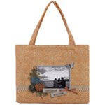 Tiny Tote Bag : Cherished Memories - Mini Tote Bag
