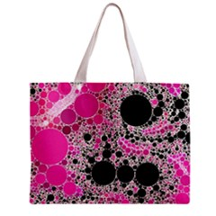 Pink Cotton Kandy  All Over Print Tiny Tote Bag by OCDesignss
