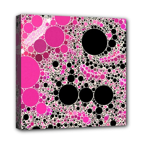 Pink Cotton Kandy  Mini Canvas 8  X 8  (framed)