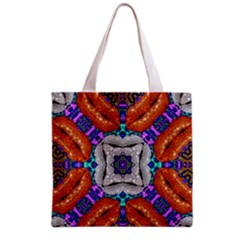Crazy Fashion Freak All Over Print Grocery Tote Bag