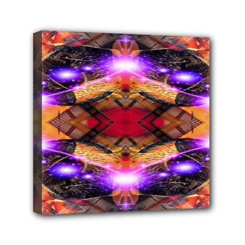Third Eye Mini Canvas 6  X 6  (framed) by icarusismartdesigns