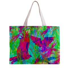 Birds In Flight All Over Print Tiny Tote Bag by icarusismartdesigns