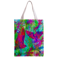 Birds In Flight All Over Print Classic Tote Bag by icarusismartdesigns