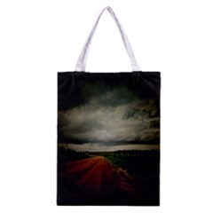 Dark Empty Road All Over Print Classic Tote Bag by dflcprints