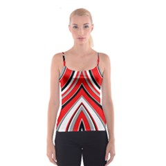 Pattern All Over Print Spaghetti Strap Top by Siebenhuehner