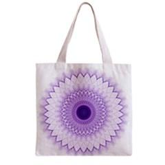 Mandala All Over Print Grocery Tote Bag by Siebenhuehner