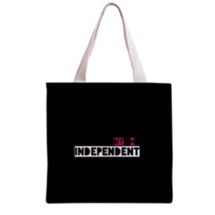 Independent Bit H All Over Print Grocery Tote Bag by OCDesignss
