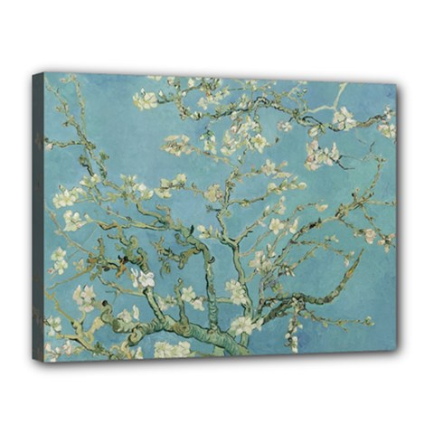 Vincent Van Gogh, Almond Blossom Canvas 16  X 12  (framed) by Oldmasters