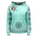 Snowflake  Womens Hoodie - Women s Pullover Hoodie
