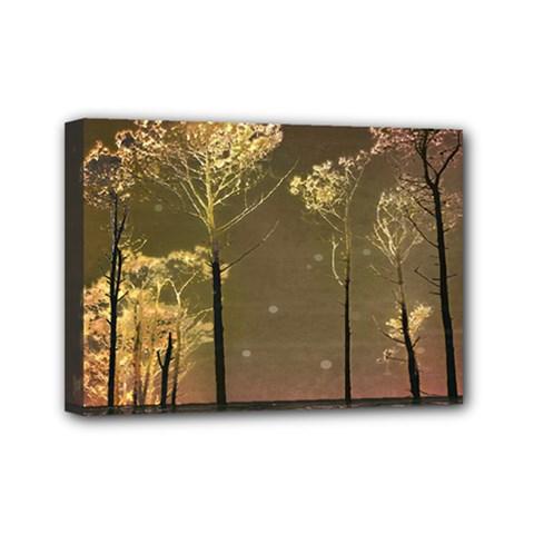 Fantasy Landscape Mini Canvas 7  X 5  (framed) by dflcprints