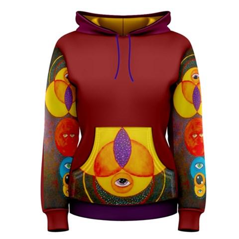 Women s Pullover Hoodie Front